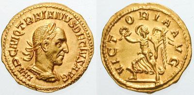 Aureus of Decius