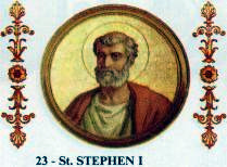 Pope Stephen I of Rome