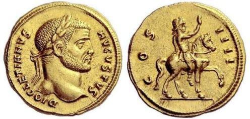Diocletian Aureus
