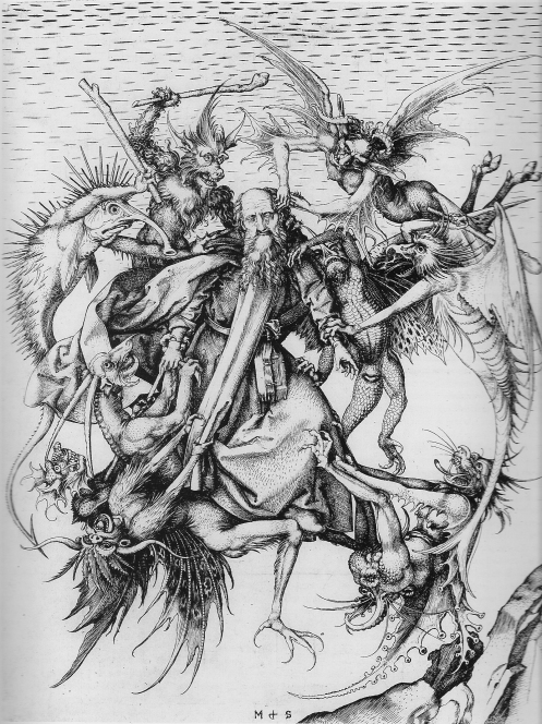 Schongauer Temptation of Antony.jpg