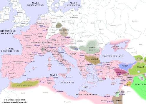 Roman Empire 1 AD