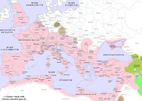 Roman Empire 200 AD